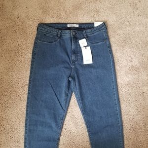 NWT Zara Women's high waisted jeans